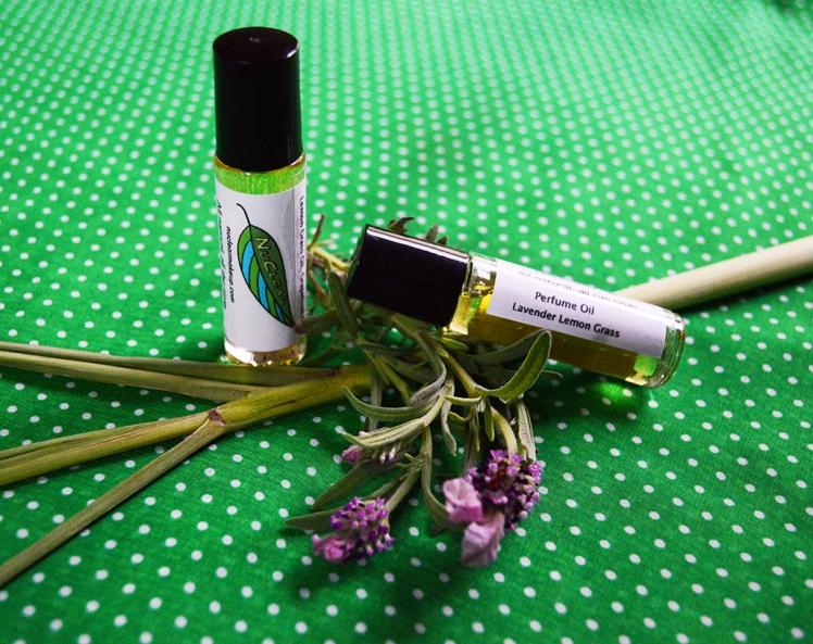 Lavender Lemongrass Perfume Oil small